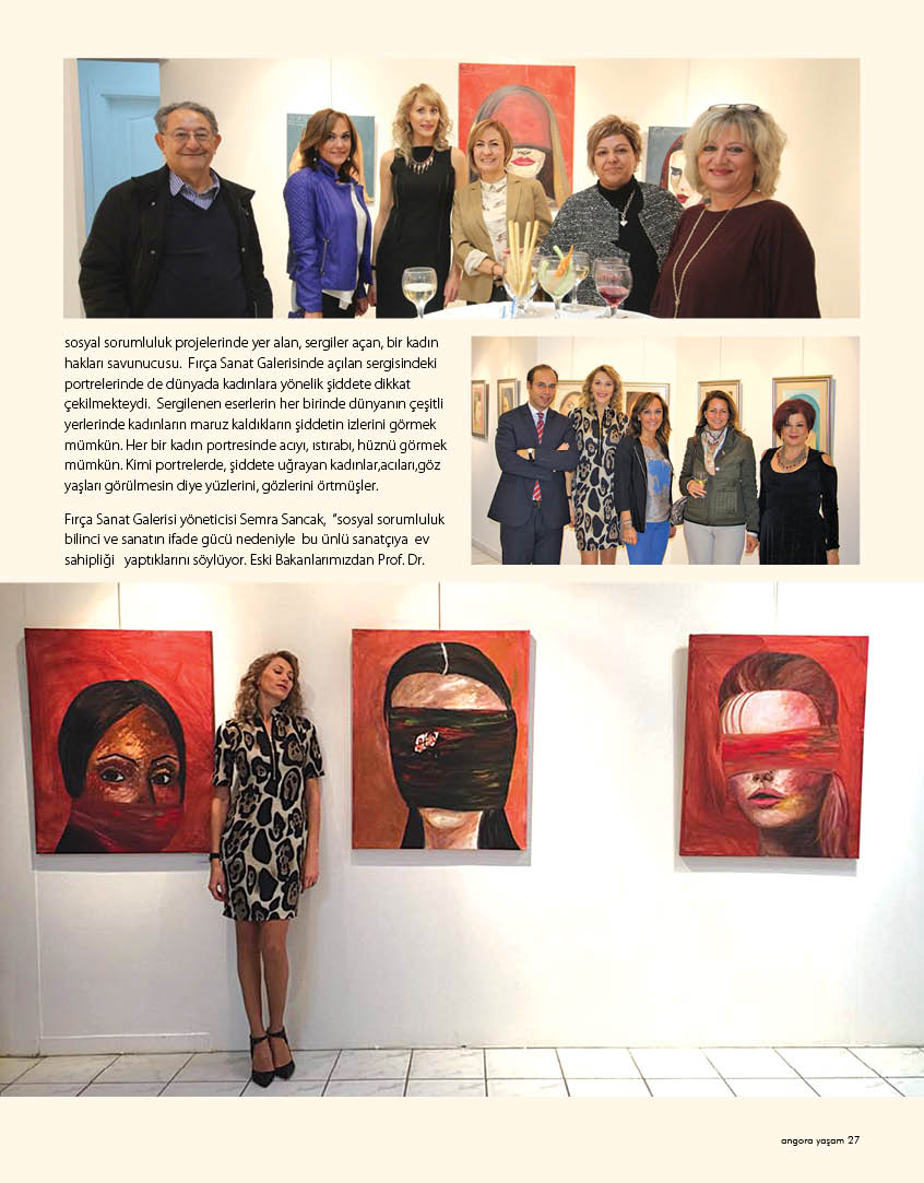 Diana Stauer Exhibition in Ankara